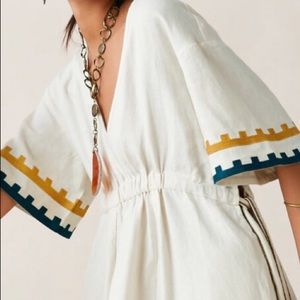 ZARA Limited Edition Studio Linen Dress